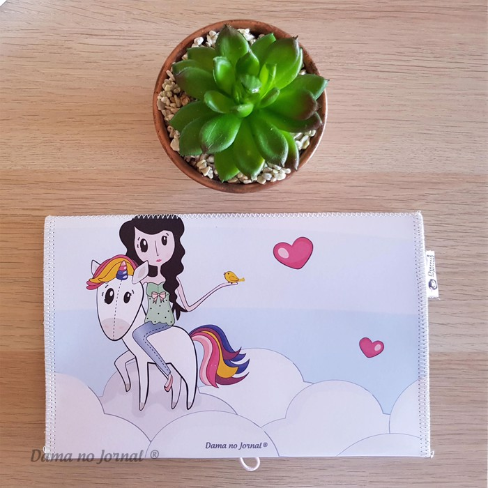 Porta-Documentos - Dama Unicorn - Presentes Personalizados - Dama no Jornal®