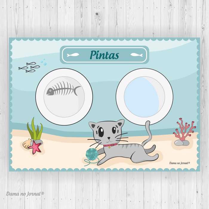 Individual - The Secret Life of Pets - Gatos #1 - Presentes Personalizados - Dama no Jornal®